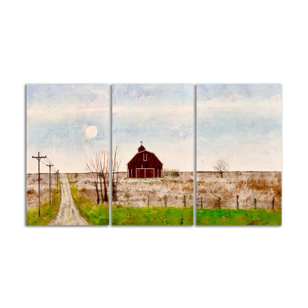 Anderson's Farm (Triptych) by T.D. Scott