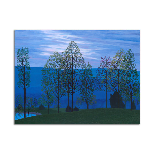 Blue Evening by Jane Troup