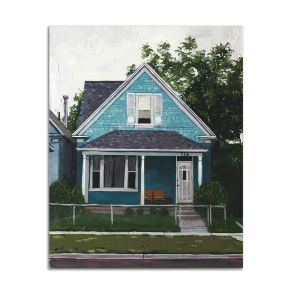 Blue House by Jared Gillett