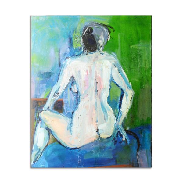 Blue Nude by Stephanie Cramer