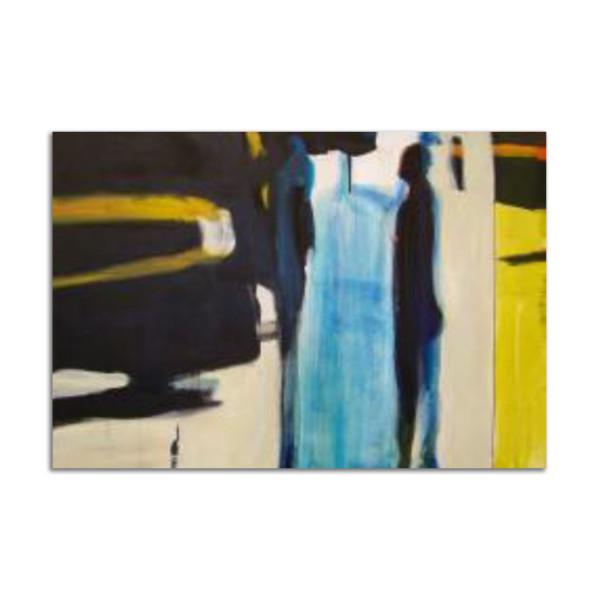 Blue Slip by Stephanie Cramer