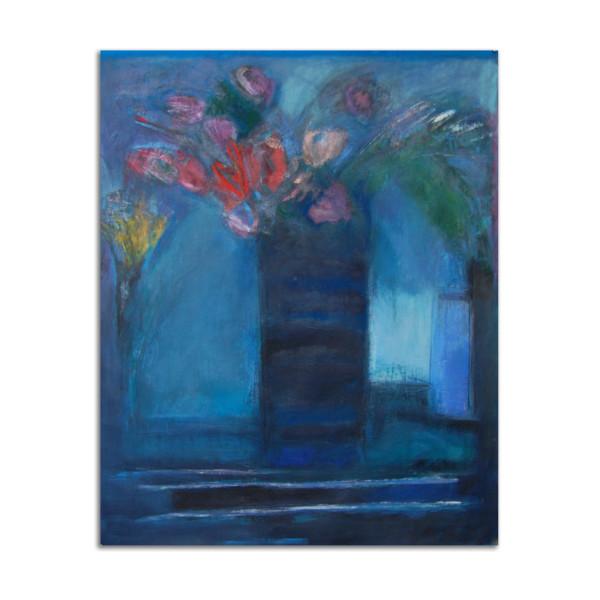 Blue Vase by Jane Parker