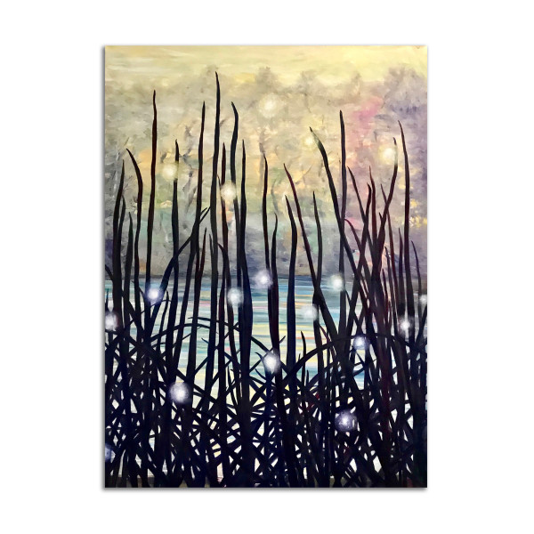 Cattail Magic by Lil Olive