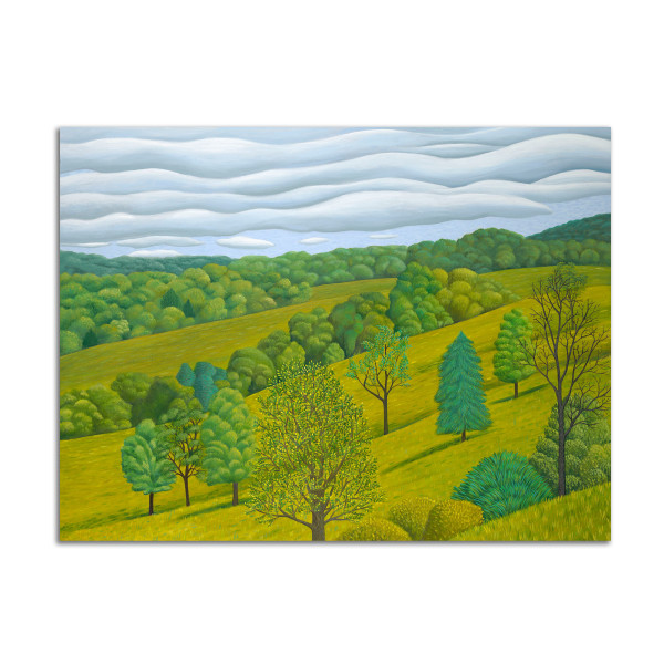 Clouds and Hills by Jane Troup