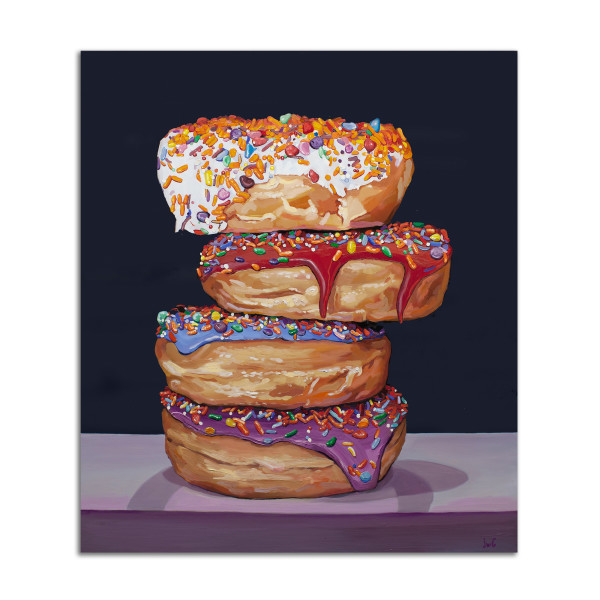 Donut Break by Jared Gillett