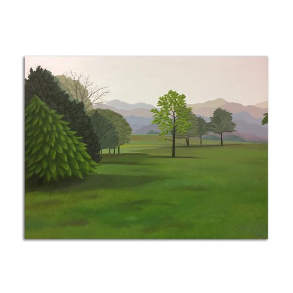 Field in Morning by Jane Troup