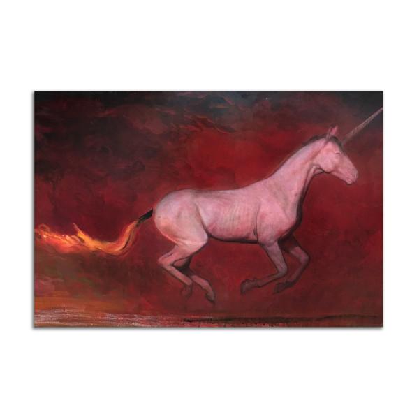 Firestarter Unicorn by Brad Noble