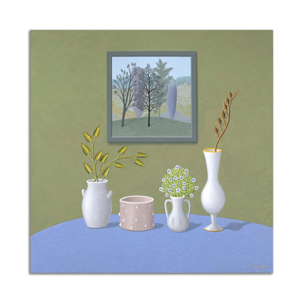 Four Vases by Jane Troup
