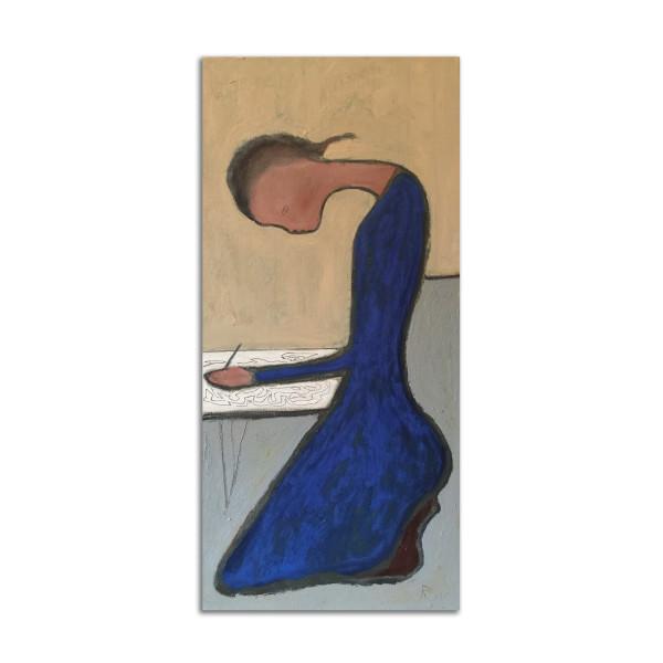 Girl in Blue by Rosie Winstead