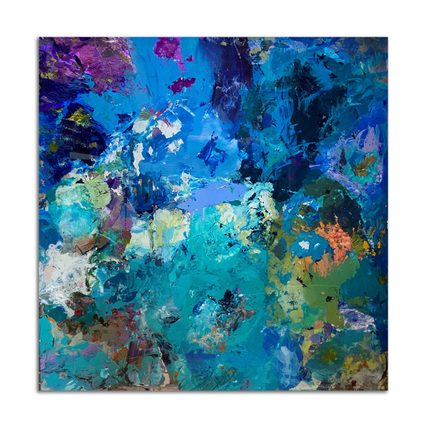Glass Palette by Betty Parnell