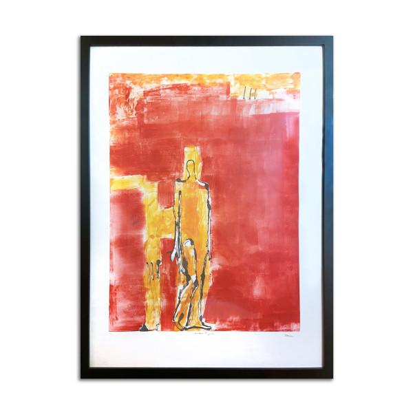 Golden Figure by Stephanie Cramer