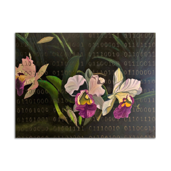 Hawaiian Orchids by Kat Allie