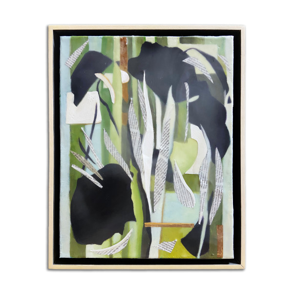 Inspired: After Lee Krasner's Milkweed (1955) by Christie Snelson