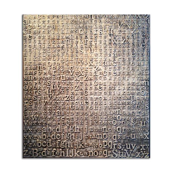 Jasper's Wax Alphabet by Kat Allie