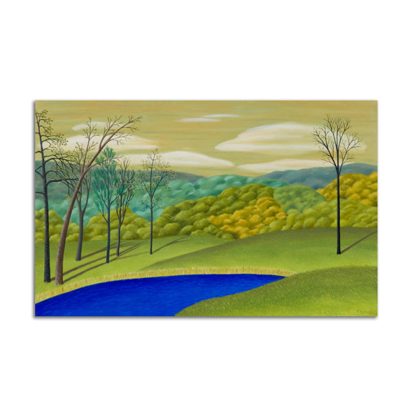 Landscape with Pond by Jane Troup