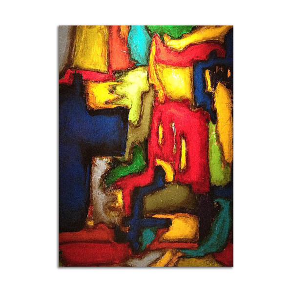 Little Monsters Technicolor Dream Coat by Dustin Burgert