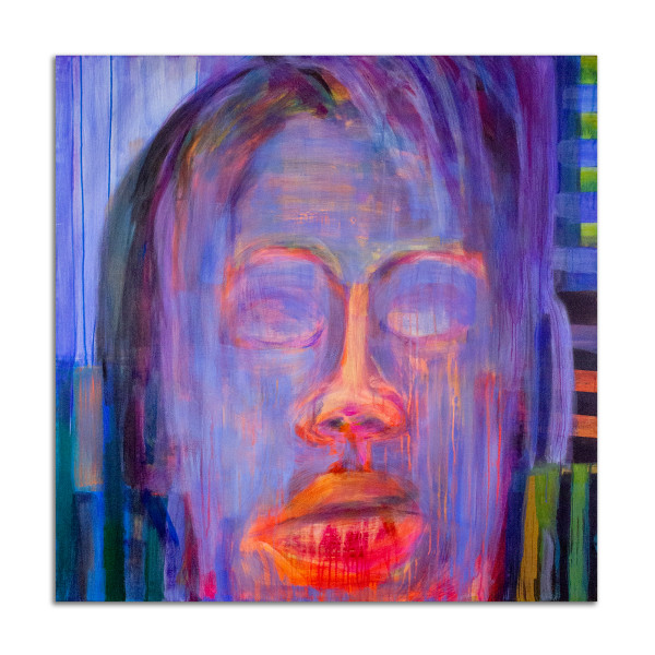 Meditation, Blue by Stephanie Cramer