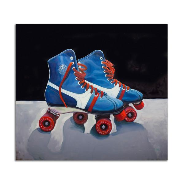 Official Roller Derby Skates by Jared Gillett