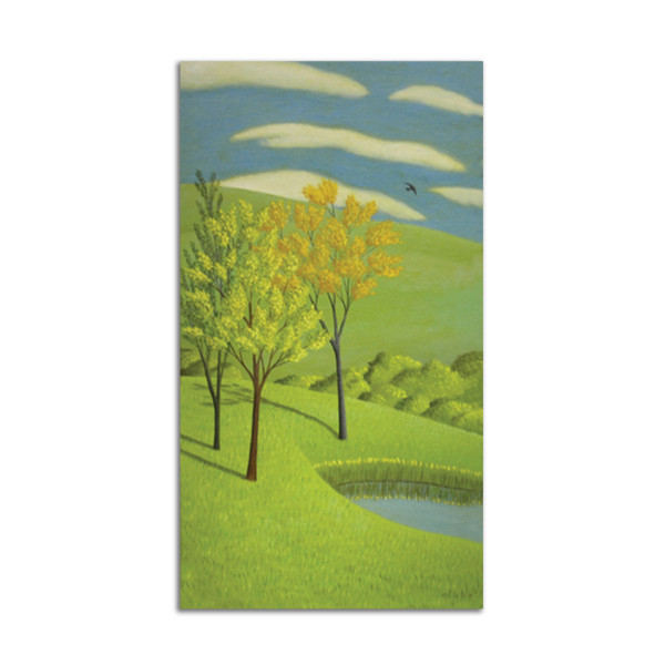 Pond and Trees by Jane Troup