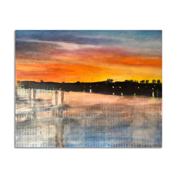 Port Mansfield Sunrise by Kat Allie