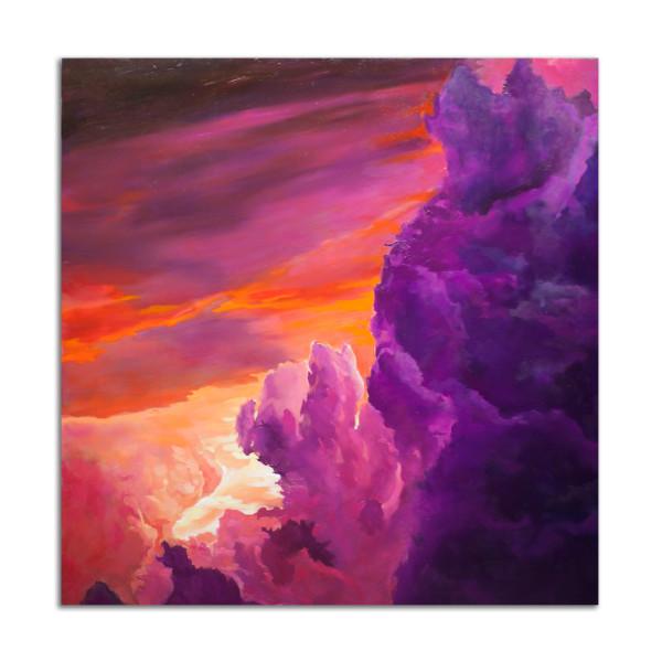 Purply Orange Burst by Jared Gillett