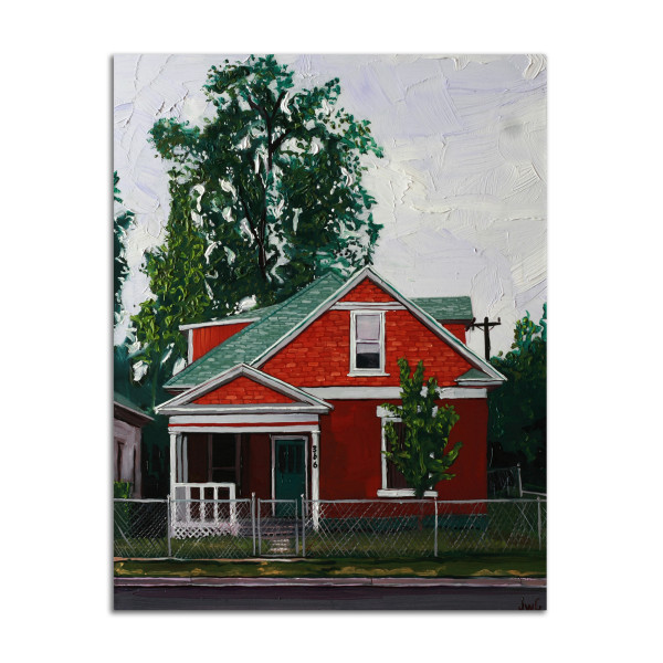 Red House by Jared Gillett