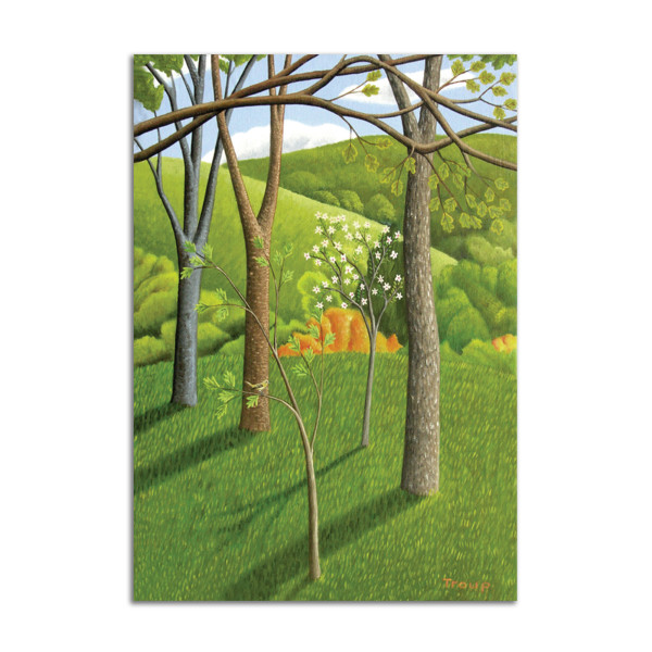 Saplings by Jane Troup