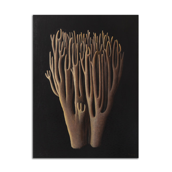 Tall Tan Corals by Jane Troup