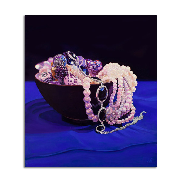 Tangled Pearls by Jared Gillett