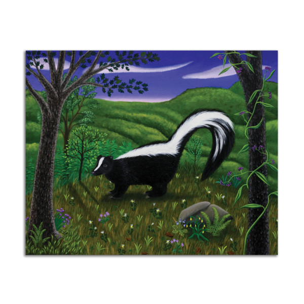 The Skunk by Jane Troup