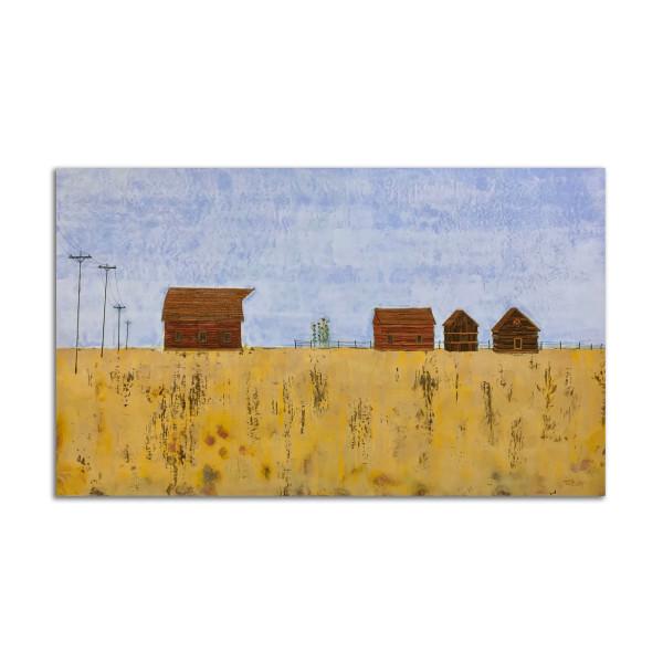 Through the Wheat by T.D. Scott