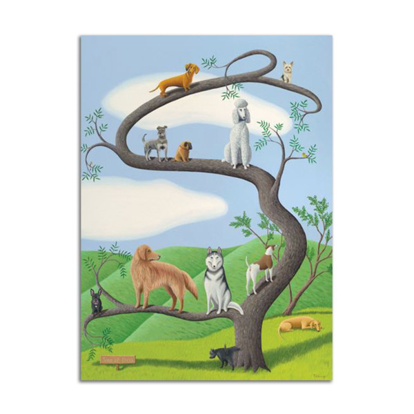 Tree of Dog by Jane Troup