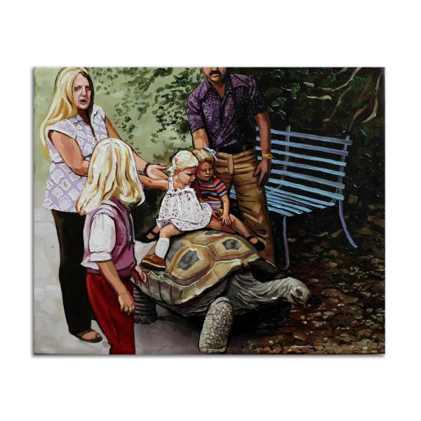 Turtle Ride by Jared Gillett