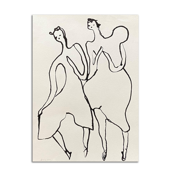 Two Girls by Rosie Winstead