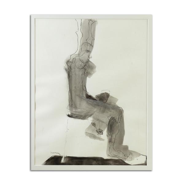 Untitled (Grey figure) by Stephanie Cramer
