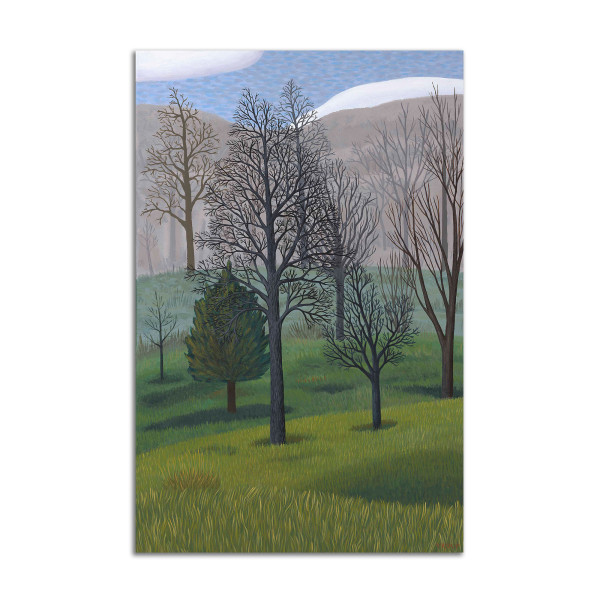 Vertical Trees by Jane Troup