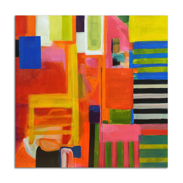 Yellow Chair by Stephanie Cramer