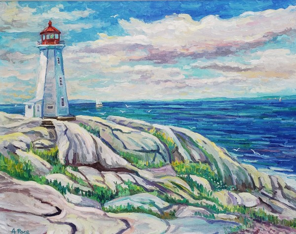 Peggy's Cove Light by Anthony Pace