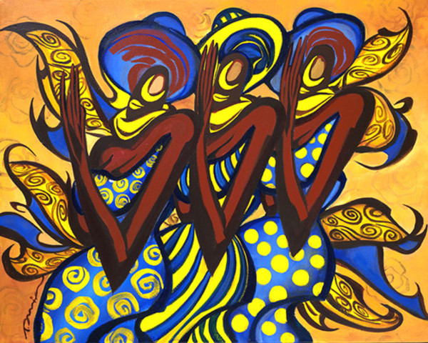 SHINING RHOYALTY by Tariq Mix