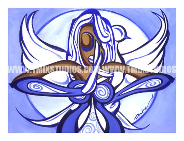 Zeta Lady Dove by TARIQ MIX