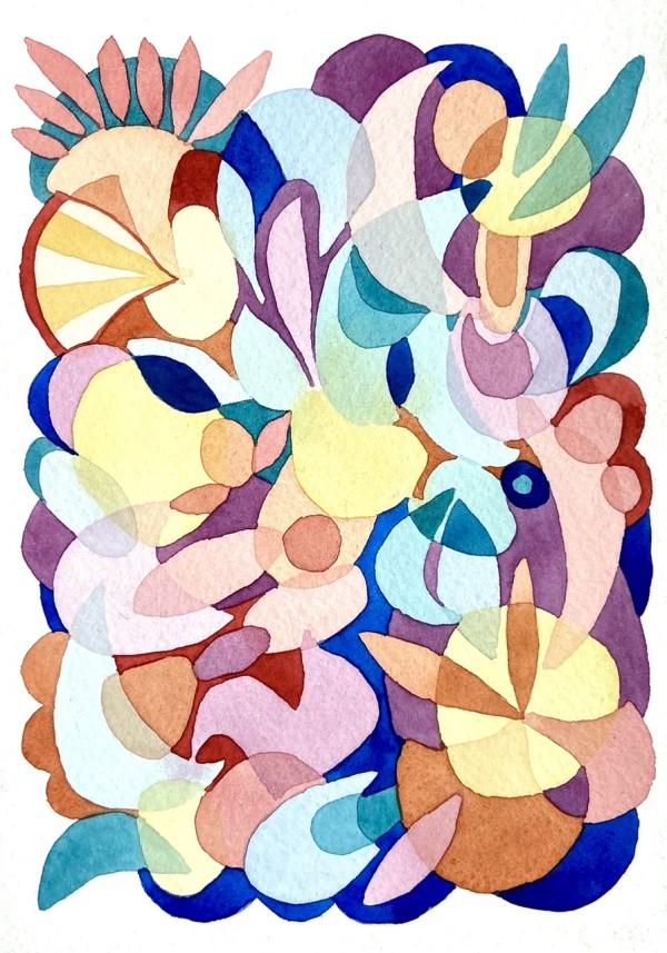 Beach Umbrella by Vanessa Cline Fuchs
