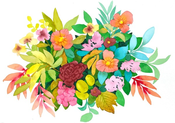 Bouquet for You by Vanessa Cline Fuchs