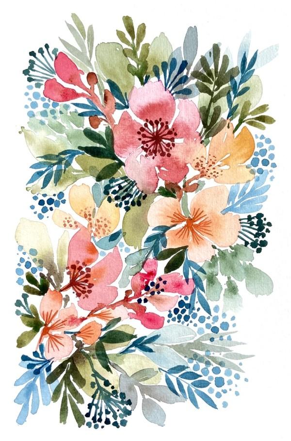Hibiscus by Vanessa Cline Fuchs