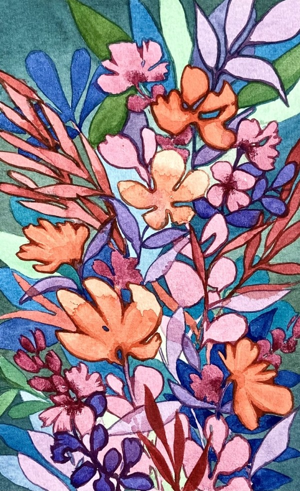 Coral Garden by Vanessa Cline Fuchs