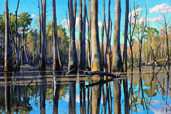 Flooded Timber by Gordon Allen