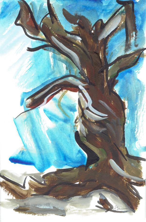Bare Tree II by Sonya Kleshik