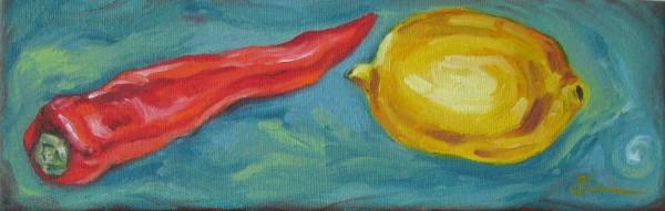Pepper and Lemon by Sonya Kleshik