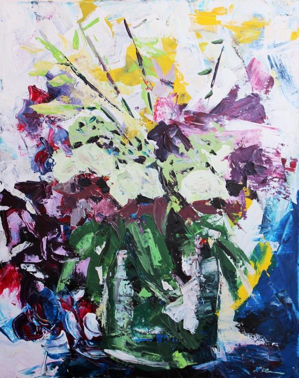 Orchid Bouquet III by Sonya Kleshik
