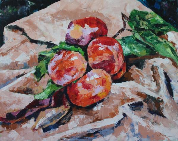 Persimmon Branch by Sonya Kleshik