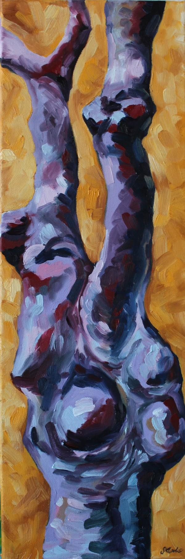 Purple Tree by Sonya Kleshik